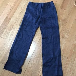 J. Crew Linen Trousers